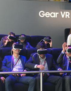 MWC 16 - Samsung Gear VR rollercoaster