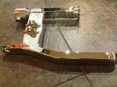 """Suzuki M109R (SwampWorks Inc. 2-Piece """"300"""" Swingarm) CHROME by LIQUID PAIN"""