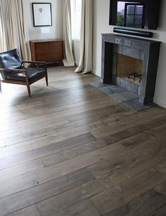 Manoir Gray Custom Aged French Oak Floors - traditional - wood flooring - other metros - by Exquisite Surfaces love it.