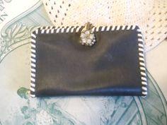 Vintage Wallet Notepad Repurposed Card Holder by antiqueelegance, $8.00