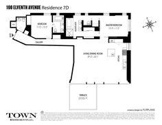 100 Eleventh Avenue #7D in West Chelsea, Manhattan | StreetEasy