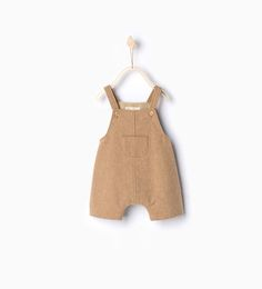 Image 2 of Dungarees with front pocket from Zara