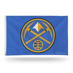 Denver Nuggets Banner Flag, Multicolor