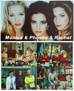 Friends: The Girls - Phoebe, Monica & Rachel