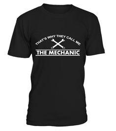 The mechanic!  #gift #idea #shirt #image #funny #campingshirt #new