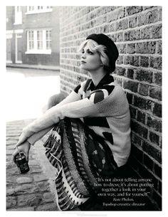 Pixie Geldof for British Vogue July 2012