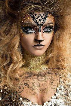 Best Halloween Makeup for Girls - Best Halloween Makeup for Girls . - best Halloween makeup for girls – best Halloween makeup for girls – - Makeup Art, Makeup Hacks, Eye Makeup, Lion Makeup, Makeup Ideas, Makeup Style, Face Off Makeup, Makeup Themes, Media Makeup