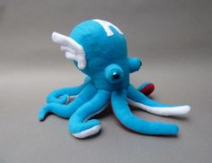 The Avengers As Cuddly Octopus Plushies all of them are so cute!