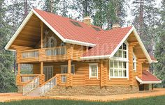 Log House from Finland - Finnish Wooden Houses – Finnish log houses