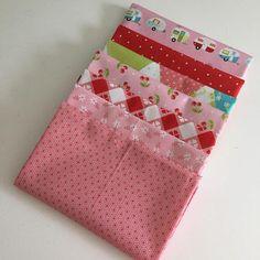Glamperlicious Pink Fabric Bundle Riley Blake Samantha