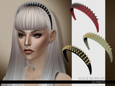 Sims 4 CC's - The Best: Headband by Leah Lillith