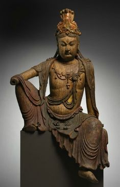 Seated Guanyin, late 1100s-1200s, China, late Northern Song dynasty-Jin dynasty
