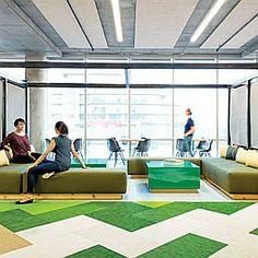Lovely No Dead Zones: Studio O+Au0027s Giant Office For Cisco