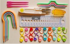 $9.95 Knitting Tools Set Crochet Hook Stitch Weave Accessories Knit Kit