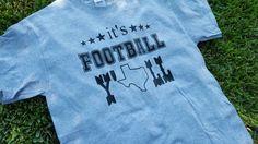 It's Football Y'all shirt. Texas football by FlamingoPinksApparel