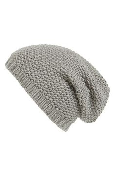 Phase 3 Basket Knit Slouchy Beanie   Nordstrom