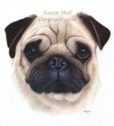 Dogs - Dog Art by award winning artist Karen Hull