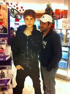 """""""Here we see Crowley smiling because Justin Bieber's ten years are almost up."""" <--- BEST EVER!  HA!!"""