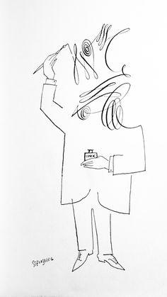 Saul Steinberg Illustrator