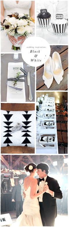 Smitten On Paper | Black & White Wedding Inspiration | Purveyors of invitations, cards & paper goods!