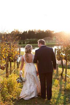 vineyard wedding love
