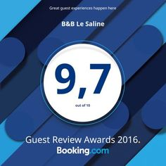B&B Le Saline · Booking.com Guest Review Awards