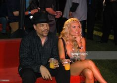 Ice-T and Coco during The Official Launch Party For Spike TV At The Playboy Mansion - Inside at The Playboy Mansion in Bel Air, California, United States.