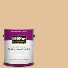 BEHR Premium Plus 1-gal. #S270-3 Tostada Eggshell Enamel Interior Paint