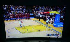 NBA 2K16 looks insanely good at 4K on the LG 65-inch 4K OLED TV! More: http://www.tweaktown.com