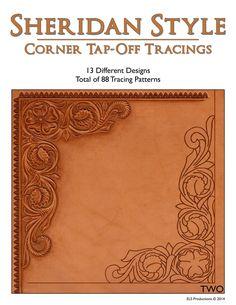 Sheridan Style Corner Tap-Off Tracings - 88 Tracing Patterns [Digital Download]