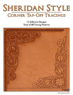 Sheridan Style Corner Tap-Off Tracings - 88 Tracing Patterns