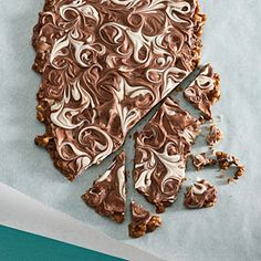 Cappuccino-Walnut Toffee. Mostly I want to try this because I actually have all the ingredients and I bet my co-workers would love it.
