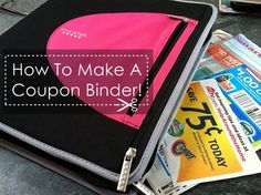 Tips on how to make your own coupon binder....I love coupons and because of them my family is able to do more stuff than before!