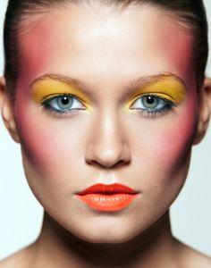 Yellow eyeshadow - #Makeup inspiration
