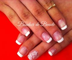 Classy french manicure! #french_manicure #nailart #nails #nailswag #nailsalon #kalamaria #skg #thessaloniki #beautysalon #beauty #naildesign #nailpolish #boudoirdebeaute #boudoir_de_beaute #manicure #nails_greece