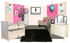 Our Virtual Nursery for Jayneoni Moore's Event