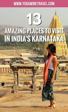 Travel Discover 13 Amazing Places To Visit In South Indias Karnataka State India Travel Guide Asia Travel Best Places To Travel Cool Places To Visit Taj Mahal Travel Guides Travel Tips Travel Info Cheap Travel Tourist Places, Places To Travel, Travel Destinations, Hampi, India Travel Guide, Asia Travel, Mysore, Taj Mahal, Travel Guides