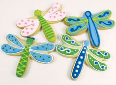 Dragon Fly cookies by A Dozen Eggs | Flickr - Photo Sharing!