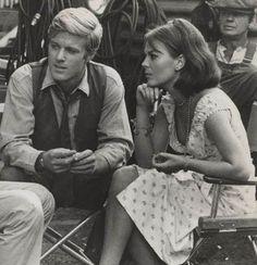 Robert Redford and Natalie Wood