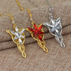 Freeshipping wholesale Gold/Silver Color The Arwen Evenstar Pendant Red/White Crystal stones Necklace from Lord    / //  Price: $US $0.93 & FREE Shipping // /    Buy Now >>>https://www.mrtodaydeal.com/products/freeshipping-wholesale-goldsilver-color-the-arwen-evenstar-pendant-redwhite-crystal-stones-necklace-from-lord/    #Best_Buy