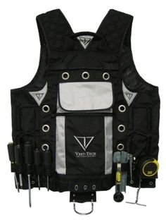 High Visibility Tool Vest with Built in Hydration Pouch – Electricians af9cd9585d30
