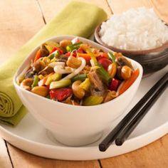 Chop suey végétarien