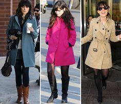 zoey deschanel--love her style