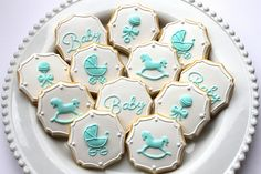 IMG_1918 | Baby shower cookies by Miss Biscuit | Miss Biscuit | Flickr