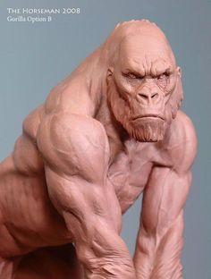 Gorilla Option B - Sculpture - ...