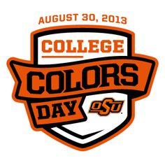 Oklahoma State University @Linda Bruinenberg Dill-Schell State University #okstate #OSU #cowboys #collegecolors