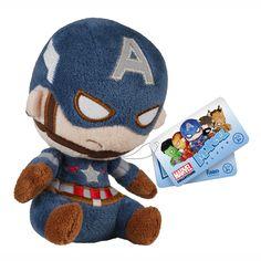 Marvel Avengers Captain America Mopeez Plush Figure