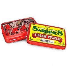 Puzzle en lata de sardinas