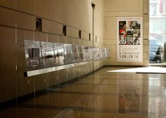 Conde Nast - ASME Nominations exhibit in the Conde Nast Lobby - Design | Production | Installation - by thedisplayers.com