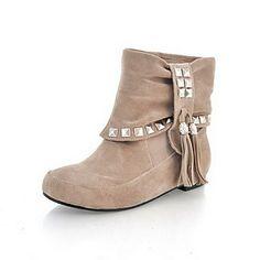 talón plano cerrado dedos de gamuza botines fiesta / zapatos de noche (más colores) – EUR € 24.74